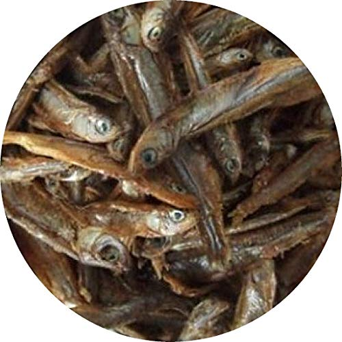 Süßwasserfische Stinte Trockenfisch 3-5 cm Reptilienfutter Hunde- Katzenfutter (5 l)