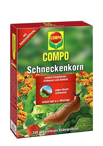 COMPO Schnecken-Korn, Streugranulat gegen Nacktschnecken, 300 g
