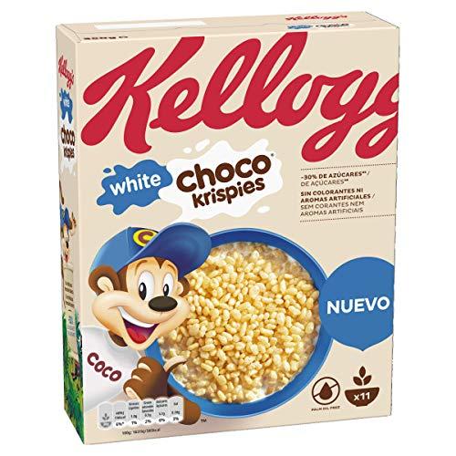 Choco Krispies White Cereales de Arroz Tostado con Chocolate Blanco - 350 gr