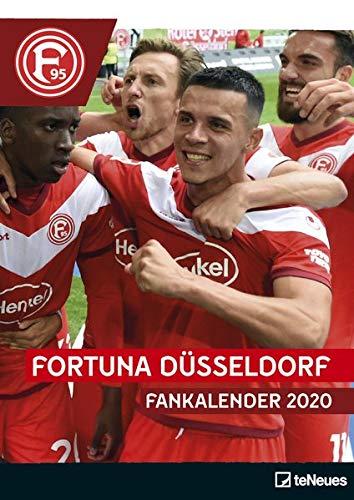 Fortuna Düsseldorf 2020 - 29,7x42cm - Fußballkalender - Wandkalender