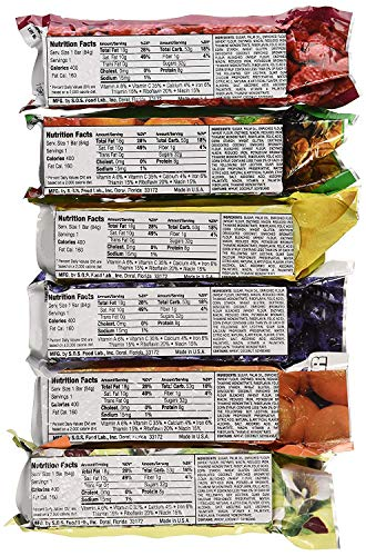 Millennium Assorted Energy Bars (6 Count) - Long Shelf Life Fruit flavored Bar Bundle - Survival Pack for Calamity… 4