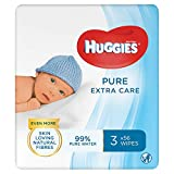 Huggies Pure Extra Care Baby Wipes, 12 x 56 wipes