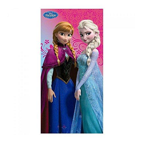 Serviette de plage 100% coton La Reine des Neiges Frozen Disney