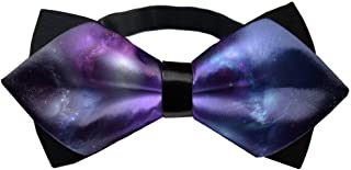 galaxy themed bow ties