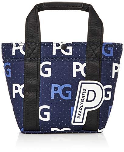 [パーリーゲイツ] ゴルフ用 ラウンドトートバッグ PGロゴ柄 カートバッグ 120_ネイビーベース