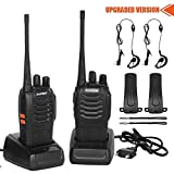 CACAGOO Walkie Talkie Recargable 16 Canales 1500mah...