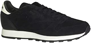 Reebok Classic Leather Shoe Men's Walking Black Chalk