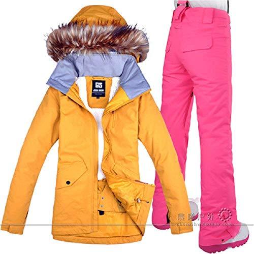 Dames Ski Suit Snowboard pak Jas Pant Waterdichte Winddichte Kleding voor Vrouwen Winter Kleding L Set 1