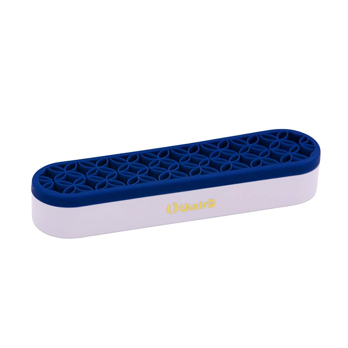 UuhairB Silicon Sew Store Organizers Cosmetic Storage Box& Desktop Storage Box for Stash and Store (Deep Blue)