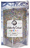 The Gourmet Baking Company All-Natural Sugar Rainbow Sprinkles – 1 Pound Natural, Non-GMO Dye-Free Sprinkles – Naturally Colored Sugar Sprinkles