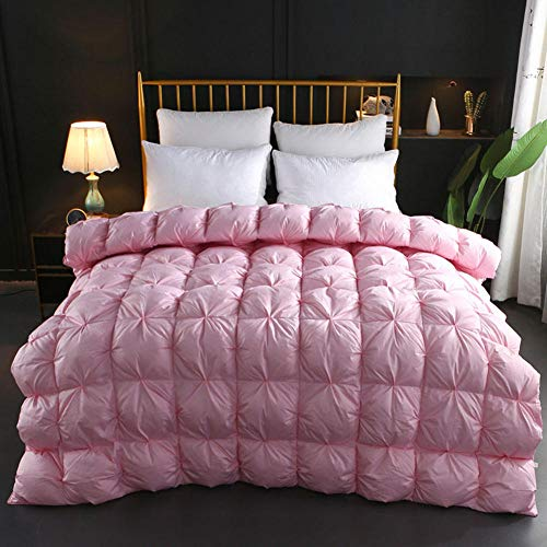 B/H Extra Thick Duvet Quilt,Down Duvet,Thick cotton duvet three-dimensional twisted flower duvet-C_220X240cm4kg