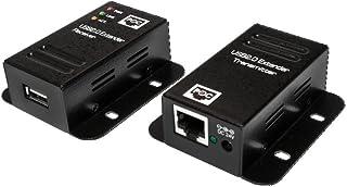 LogiLink UA0267 USB 2,0 Cat, 5 Extender Fino a 50 m con 4 Porte, Poe Nero