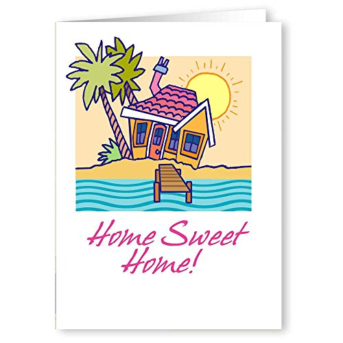 Personalized Home Sweet Home New Address Card Pack - 36 Cards and Envelopes