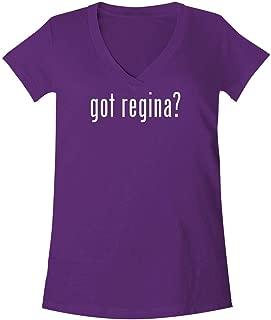 The Town Butler got Regina? - A Soft & Comfortable Women's V-Neck T-Shirt