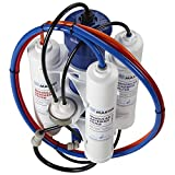 HydroGardener TMA-HG Advanced Remineralizing Garden and Hydroponic Reverse Osmosis Water Filtration System, White by HydroGardener