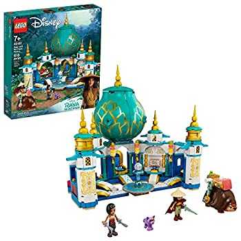 LEGO Disney Raya and The Heart Palace 43181 Imaginative Toy Building Kit  Makes a Unique Disney Gift for Kids Who Love Palaces and Adventures with Disney Characters New 2021  610 Pieces