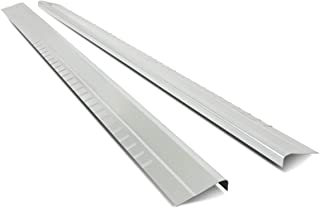 Pair 1/8 Inches Thick Steel Rocker Panel for Chevy Silverado GMC Sierra Extended Cab 99-07