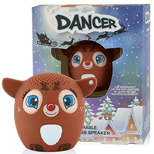 Great Price! My Audio Pet Reindeer Mini Bluetooth Animal Wireless Speaker for Kids of All Ages - Tru...