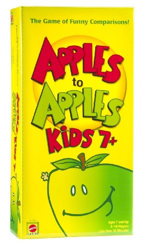 Mattel Apples to Apples Kids 7+ the Game of Crazy Comparisons 2