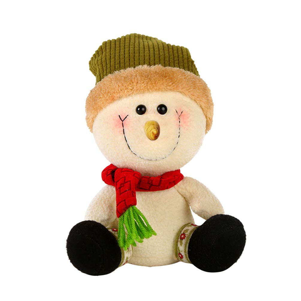 Image of Cute Plush Snowman Decoration