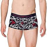Emporio Armani Underwear Trunk Graphic Art Bañador, Logo EA, M para Hombre