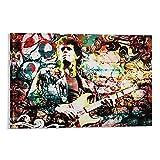 laoya Lou Reed Kunst-Poster, dekoratives Gemälde,