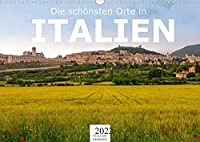 Die schoensten Orte in Italien. (Wandkalender 2022 DIN A3 quer): Erleben Sie Italien wie nie zuvor. (Monatskalender, 14 Seiten )