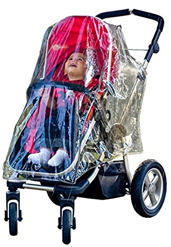 Jolly Jumper Protection contre les intempéries pour poussette – S'adapte à la plupart des poussettes – Protège bébé de la pluie, de la grêle, de la neige et du vent – Sans phtalates