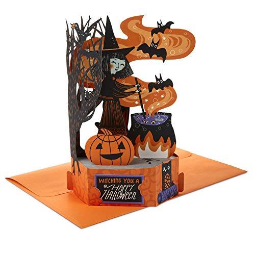 Hallmark Paper Wonder Pop Up Halloween Card (Witch's Cauldron)