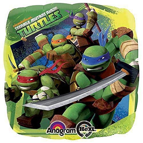 BIGIEMME S.R.L. Palloncino Compleanno Ninja Turtles