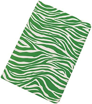 Green iPad Air 2 iPad Air Case Zebra Skin Pattern in Vibrant Green Color Wildlife African Safari product image