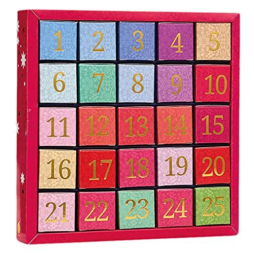 English Tea Shop - Tee Adventskalender '25 Days', 25 einzelne Boxen mit würzigen BIO-Tees in hochwertigen Pyramiden-Teebeutel