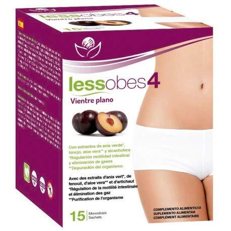 Bioserum - Lessobes 4 - Vientre Plano 15 Monodosis