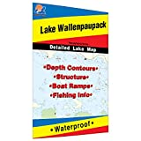 Wallenpaupack Fishing Map, Lake