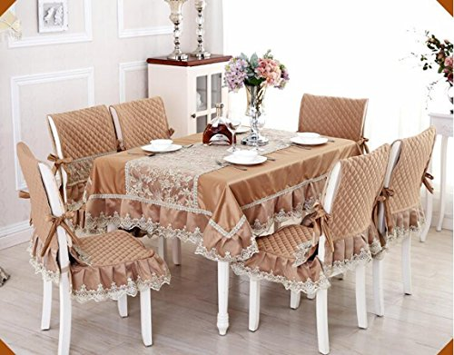 Haut de gamme tissu de table, linge de table, linge de table, rev¨ºtements d'ameublement costume Continental table ¨¤ manger,110*160CM