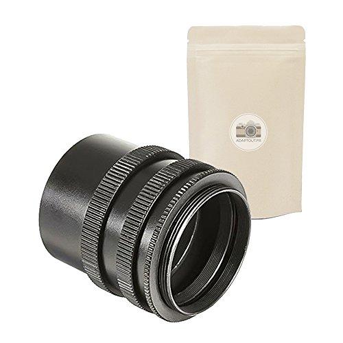 M42 Juego DE 3 Anillos DE EXTENSIÓN Macro para Case M42 Mount 100% Metal Macro Tubes Macrophotography Tubo M42x1 para cámara de película