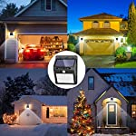 [42 LED/ 3 Mode] SEZAC Solar Lights Outdoor Solar Motion Sensor Lights with 120°Wide-Angle Detection, Waterproof…