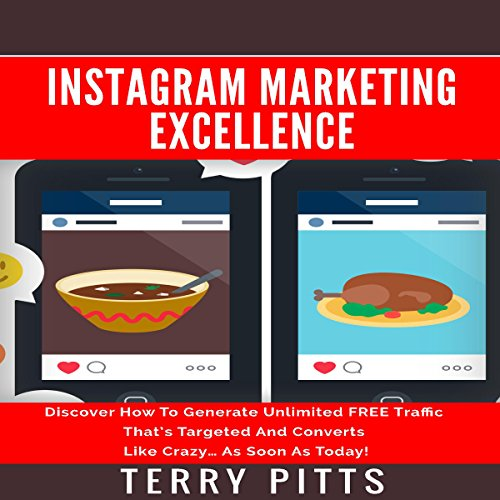 Instagram Marketing Excellence audiobook cover art