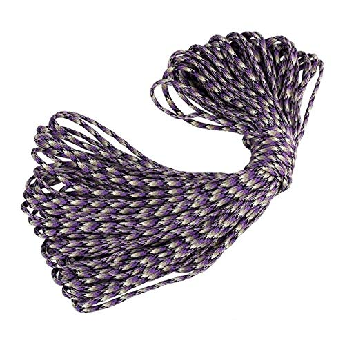 HLWJ Hundido 100FT de 4 mm Diámetro 7-Core Nylon Wire for paracaídas acollador acampa Escalada acampa Cuerda for Tender la Ropa (Color : B1)