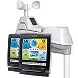AcuRite 01517 Pro Color Weather Station with Rain, Wind, Temperature, Humidity and...