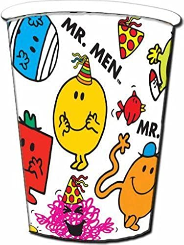 Mr Men Men Men Party Cups - 8 by Creative  liquidación hasta el 70%