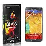 Conber [4 Stück] Displayschutzfolie kompatibel mit Samsung Galaxy Note 3, Panzerglas Schutzfolie für Samsung Galaxy Note 3 [Hüllenfreundlich][9H Härte]