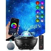 Woruijia Night Skylight Music Speaker Projector with Remote Control