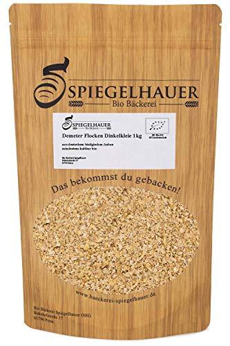 Bio Dinkelkleie 1 kg Kleieflocken aus deutschen Dinkel