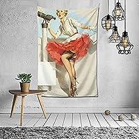居間に適した家の芸術の装飾のタペストリー寝室の寮の背景壁の装飾60x40インチ