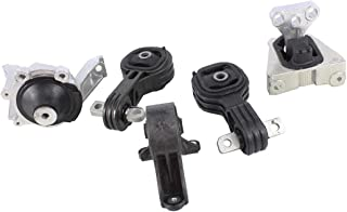 DNJ MMK1024 Complete Engine Motor & Transmission Mount kit for 2007-2011 / Honda/CR-V / 2.4L / Auto Trans