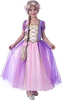 STYLER Princess Costume Dresses for Girls Sleeveless Birthday Party Costume Dress up