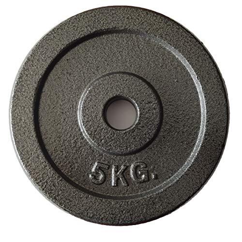ダンベル プレート 可変式 プレートダンベルおもり追加 純鋳鉄 5�s×2個 合計10kg