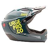 Urge ubp16321m Casco de Bicicleta de montaña Unisex, Azul/Verde, M