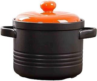 Bowl Pot Casserole Cooker Ceramic Soup Health High Temperature Fire Flame Deep Soup Pot Heat-resistant Stew Pot Pot Rice B...